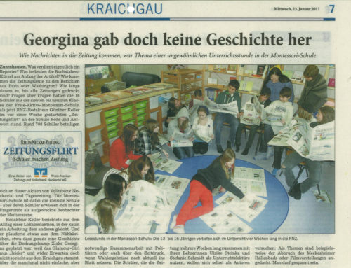 Zeitungsflirt 2013